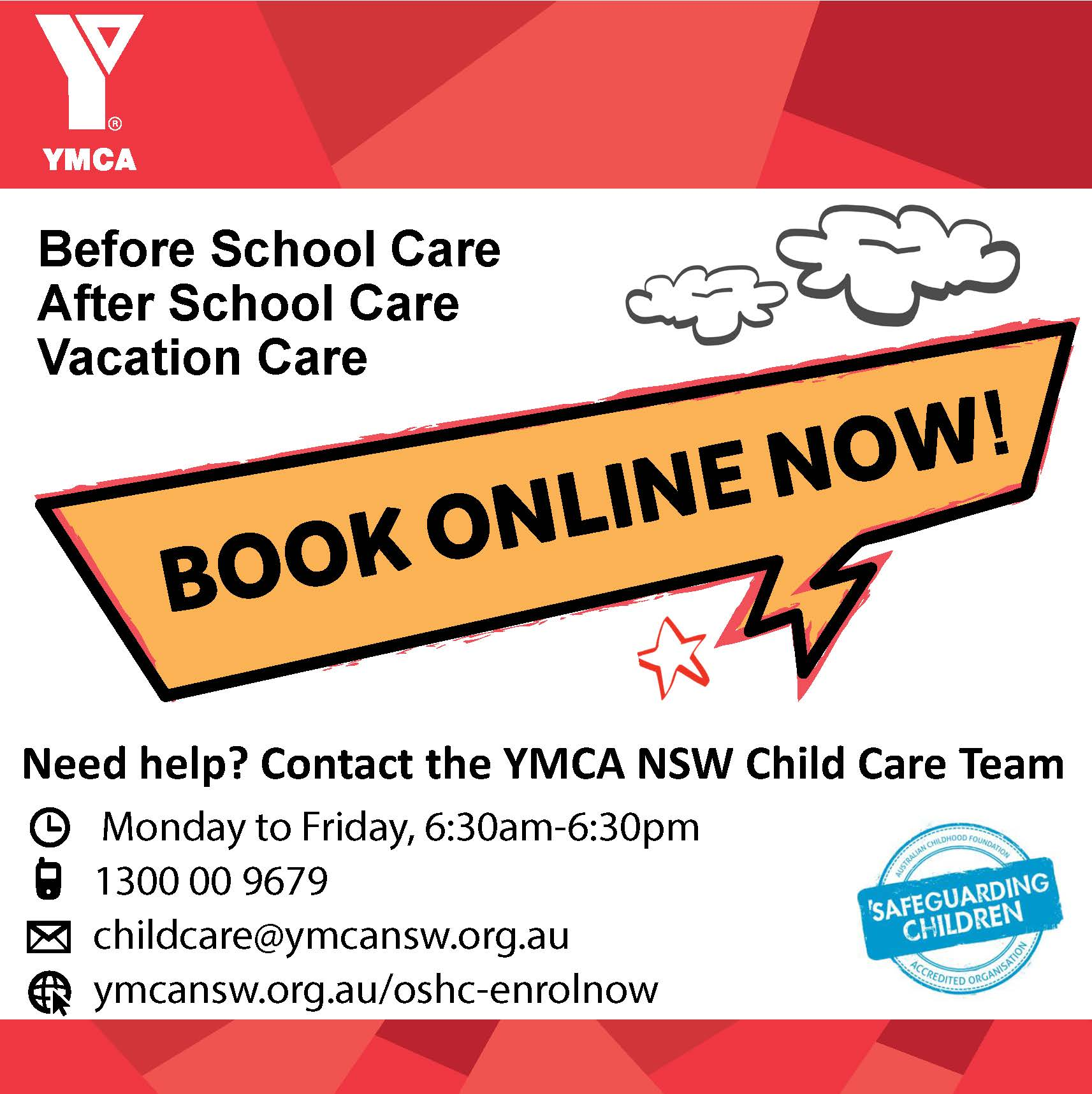 To enrol in OHSC phone 1300 00 9679